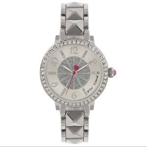 Betsey Johnson Silver-Tone Watch 35mm BJ00617-01
